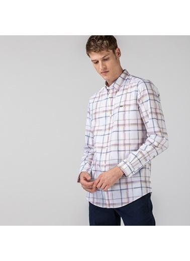 Lacoste Erkek Slim Fit Gömlek CH0188.88B Beyaz